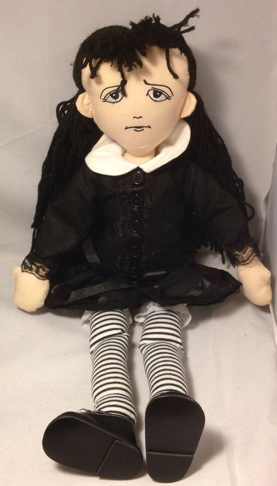 Agnes Dreary, a delightfully dark collection!  She's shy and woeful -- a little girl who is fashionably gloomy.  For Agnes and her family, fashion is a very grave matter.