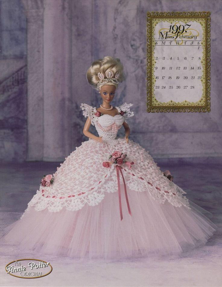 Best 20+ Barbie Crochet Gown ideas on Pinterest Crochet ...