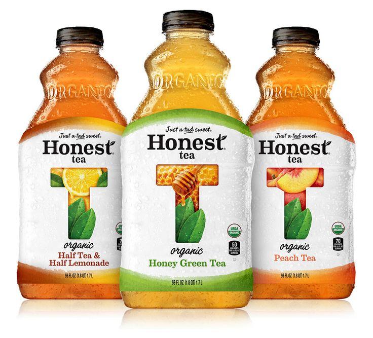 Honest Tea — The Dieline - Package Design Resource