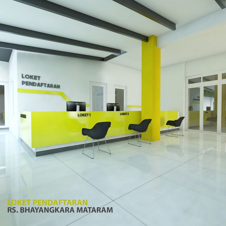 Renovasi Lobby RS. Bhayangkara Mataram