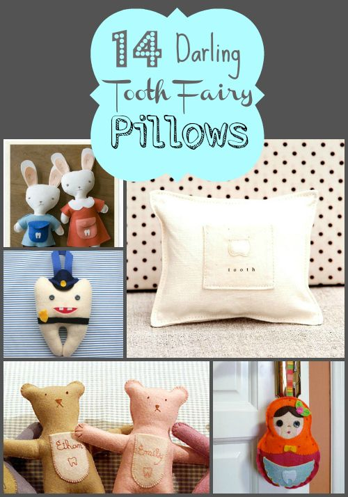 14 Darling Tooth Fairy Pillows