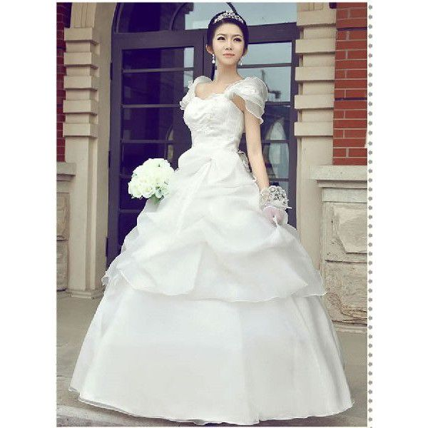 ウェディングドレス.Aライン/結婚式./XS-4Lサイズ 新品