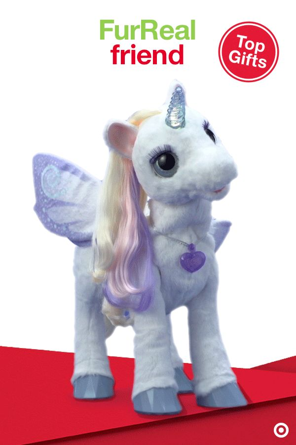 From her light-up horn to her delicate, fluttering wings, the FurReal Friends StarLily My Magical Unicorn is the perfect Christmas gift for your little one. This beautiful unicorn responds to your voice and touch with more than 100 sound and motion combinations, including a color-changing horn that matches her mood. Time for a truly magical adventure!
