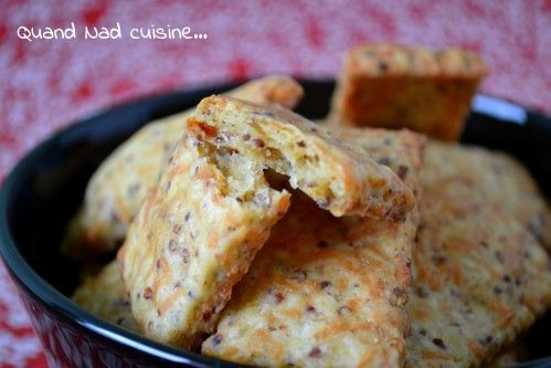 biscuits apéro à la moutarde et au comté/Ces petits biscuits sont à croquer, vous n'en ferez qu'une bouchée