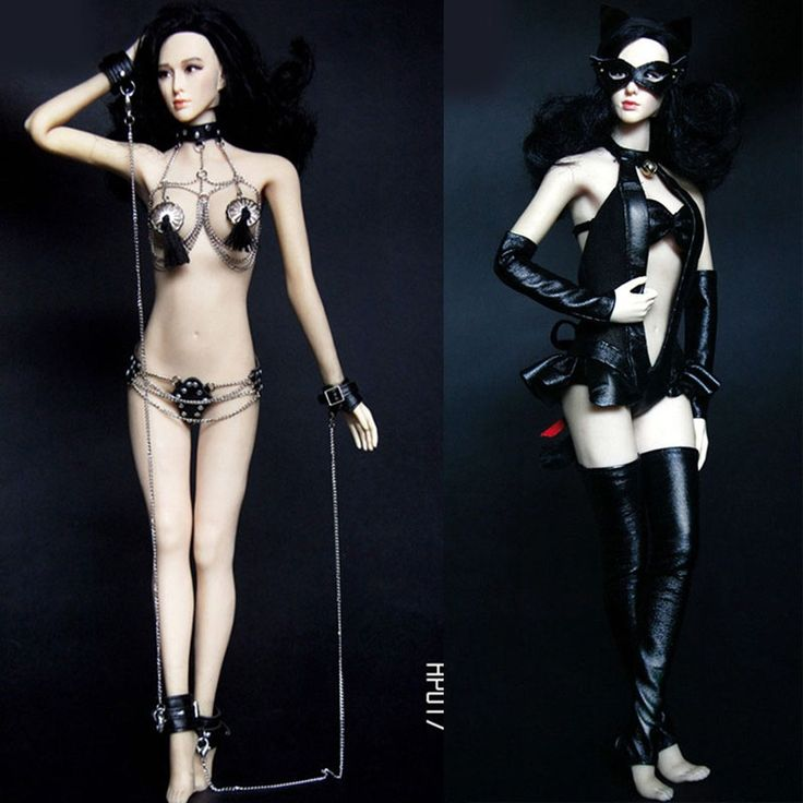 58.73$  Buy here - http://ali6ii.shopchina.info/1/go.php?t=32813177057 - Mnotht Toy 1/6 Female Solider Sexy Catwoman Suit Clothes HP016 HP017 SM Chain Lingerie  for Phicen 1/6 Female Action Figure l30 58.73$ #aliexpressideas