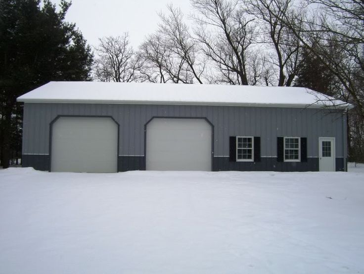42 X 60 Morton Building Location Geneseo Il The Shed