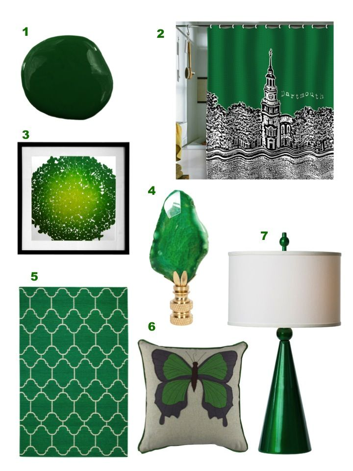Home Accessories Green