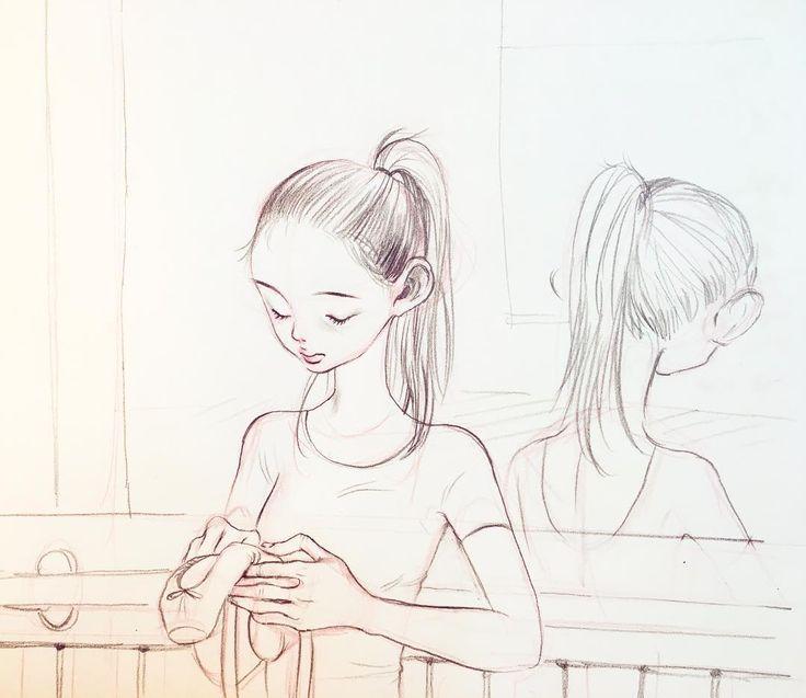 """""""준비"""" a slight variation #drawing #doodle by novoduce"""