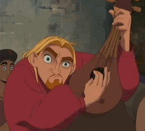 100 best GIFs Miguel lute The Road to El Dorado - When your music teacher teaches you how to play an instrument.