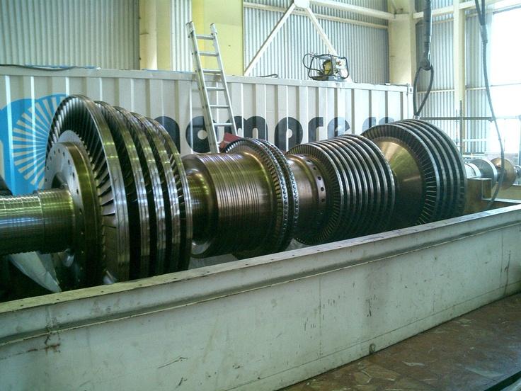Rotor de alta presión para central térmica