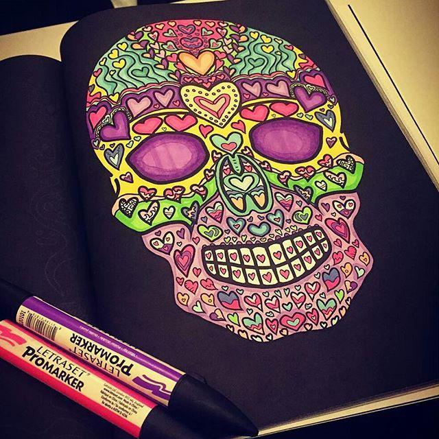 Heart Skull Day Of The Dead