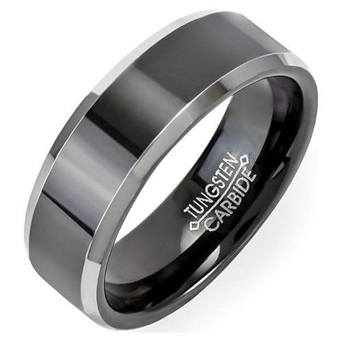 Tungsten Carbide Men's Wedding Ring