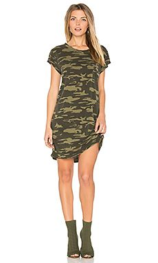 Camo T-shirt Dress in Heritage Camo