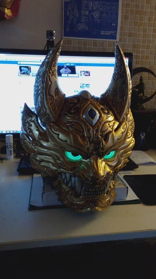 GARO helmet 3D Printer Final  https://www.facebook.com/Arton3D/