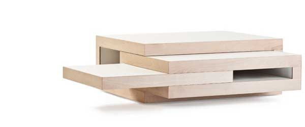 A ton of different ways to use this coffee table.