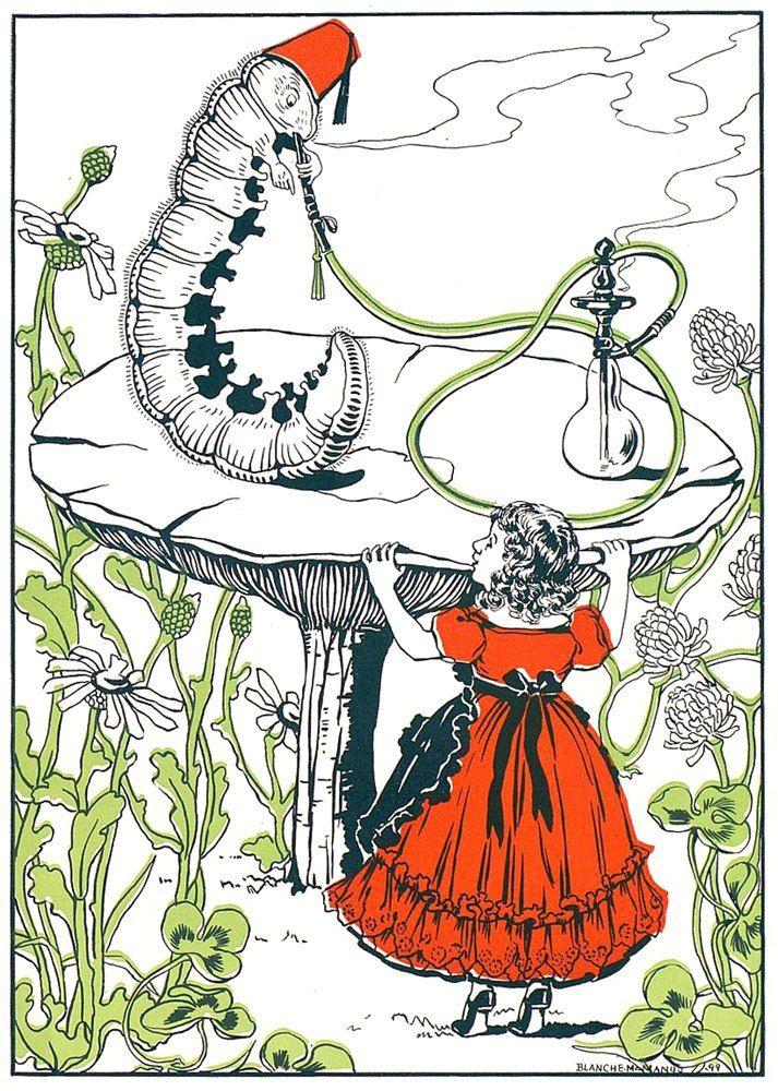 Blanche McManus ~ Alice's adventures in wonderland ~ 1899