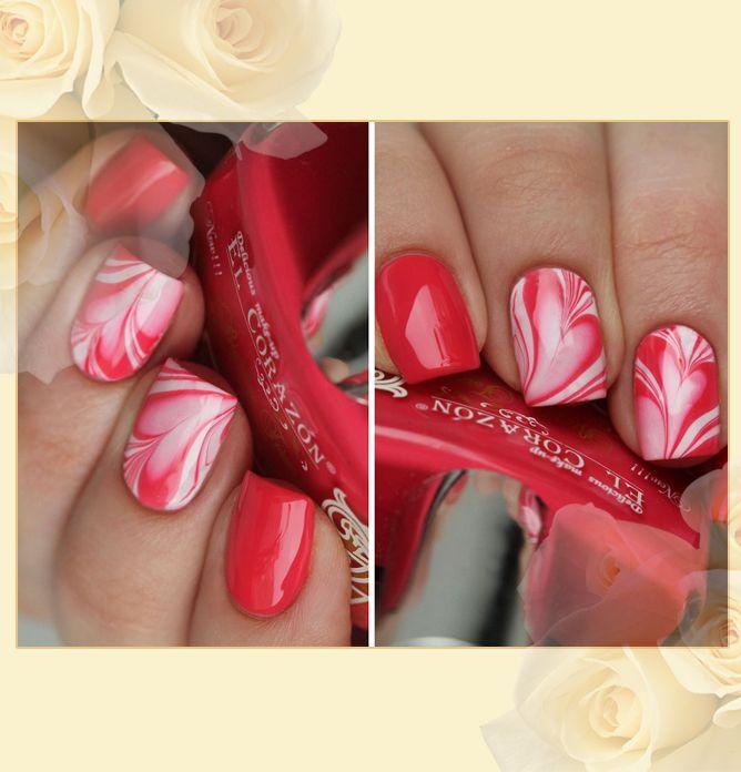 EL Corazon Charm and beauty 858, ярко-коралловый лак для ногтей