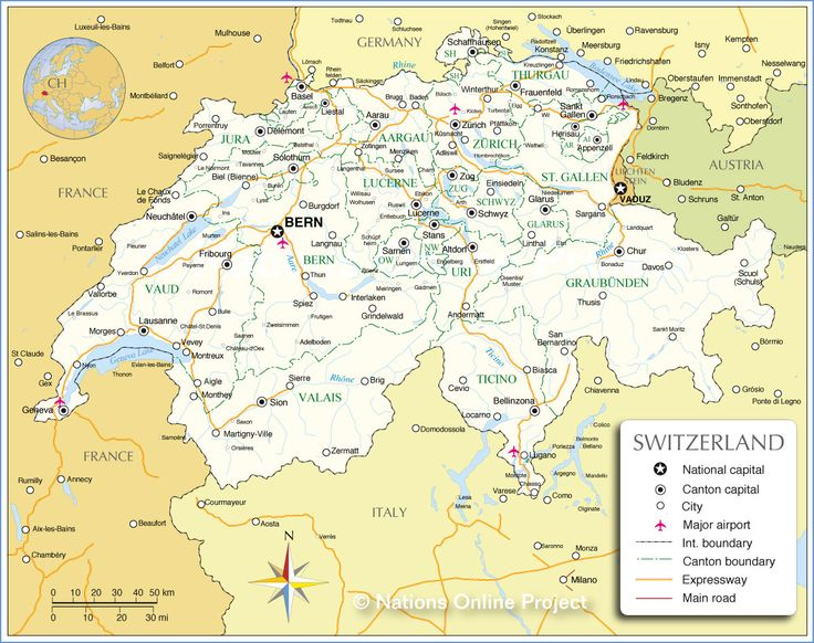 Adelboden Switzerland Map Map Of Switzerland Cities And - Map 9f germany