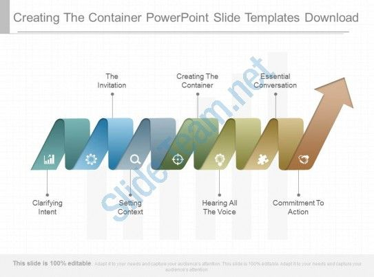creating the container powerpoint slide templates download Slide01