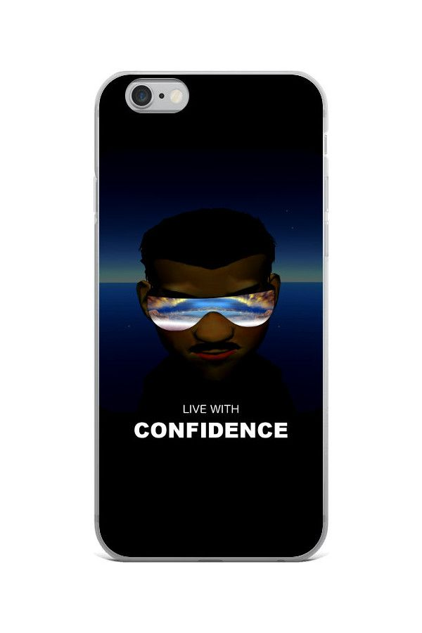 Confidence - iPhone 6/6s Case: • Hybrid Thermoplastic Polyurethane (TPU) and Polycarbonate (PC) material • Solid polycarbonate back • Flexible see-through polyurethane sides • Precisely aligned cuts and holes • 0.5 mm raised bezel • Printed in the USA