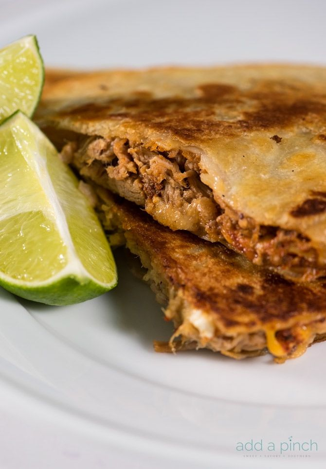 Pulled pork quesadillas make an all-time favorite leftover makeover the whole…