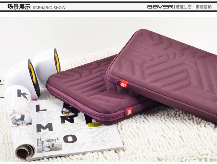 15 15.6 inch Laptop Sleeve Bag Waterproof Shockproof Hard Case For dell hp apple macbook pro notebooks purple