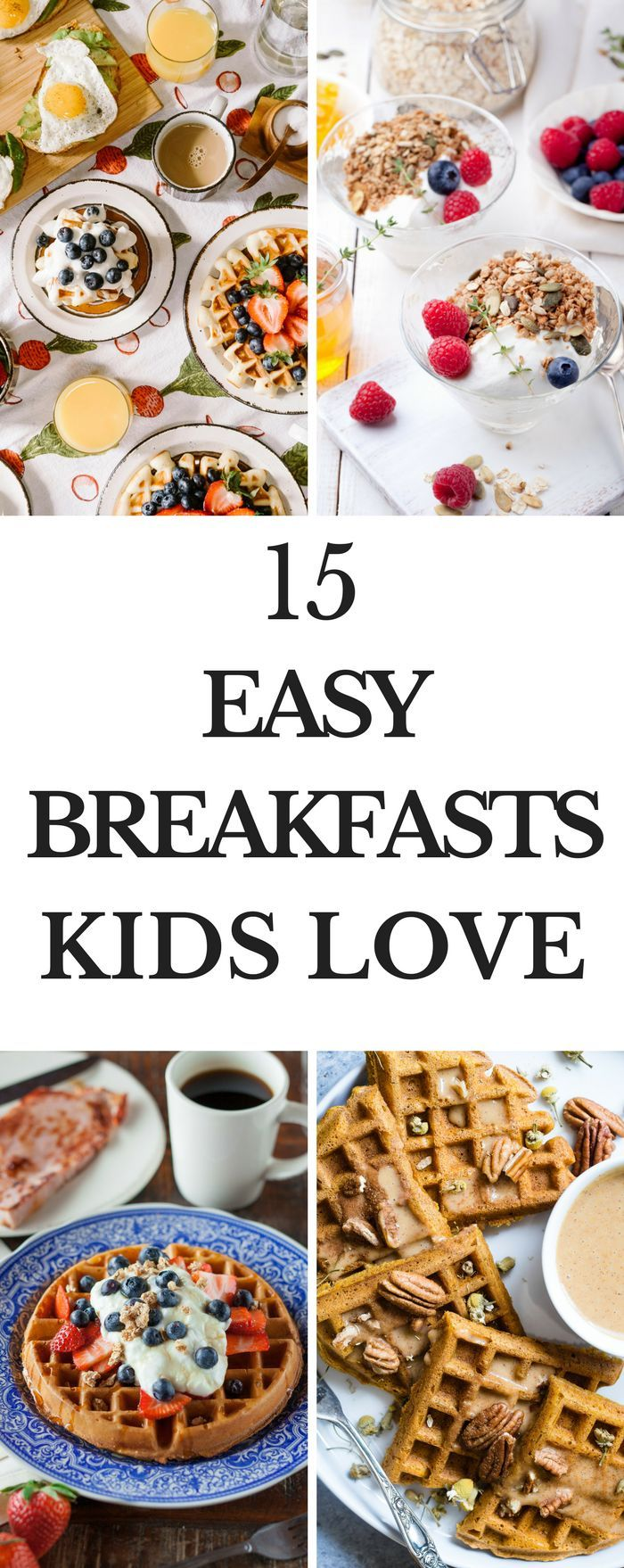15 Breakfast Ideas Looking for breakfast ideas? Whether you're looking for healthy breakfasts that are easy to prepare, or make-ahead breakfasts to make for a crowd you're covered on this list of breakfast recipes! From quick breakfasts for kids to breakfast casseroles you'll find something here! #breakfastrecipes #recipes