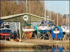 The Elephant Boatyard * Bursledon * Howards' Way * BBC * http://news.bbc.co.uk/local/hampshire/hi/people_and_places/history/newsid_8159000/8159018.stm