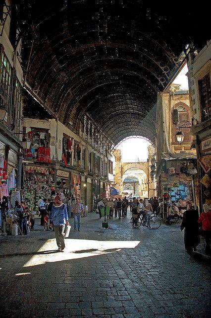 Hamidiye Souk, Damascus, Syria
