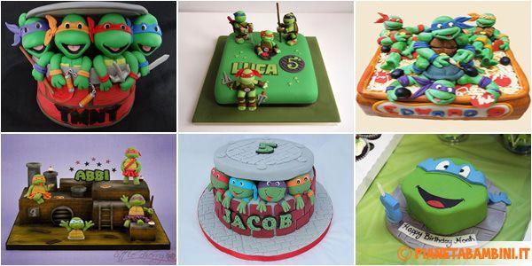 Le torte delle Tartarughe Ninja