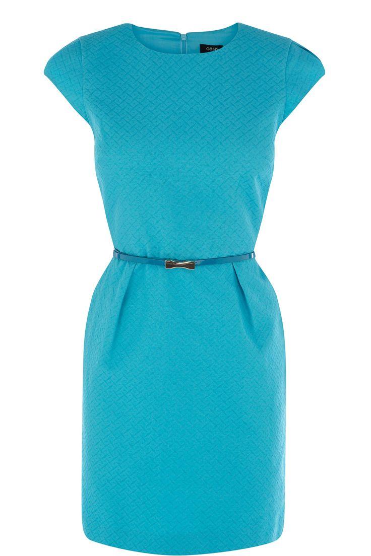 Oasis Diamond Jacquard Dress