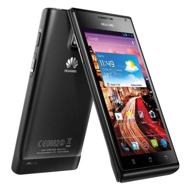 10 Smartphones Android de 2012 - Huawei Ascend P1...