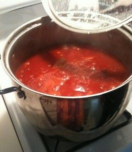 Old Style Italian Gravy..ate it every Sunday growing up...yum!
