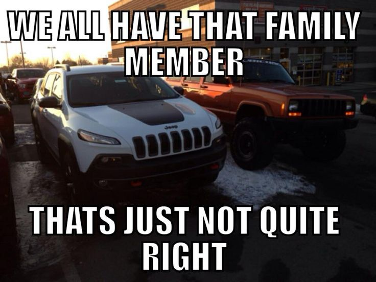 "Jeep humor ... the ""New"" Jeep Cherokee"