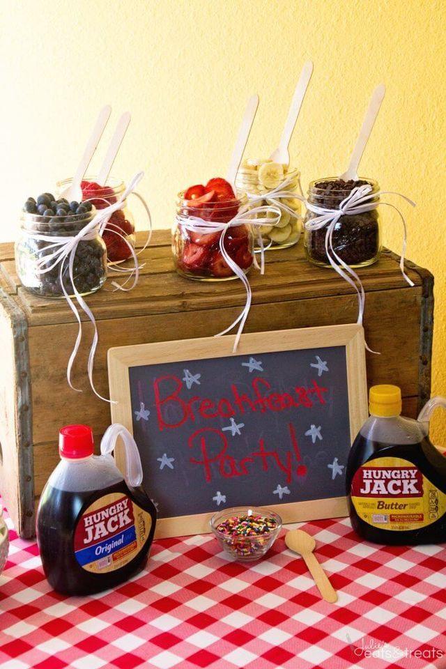 breakFEAST Pancake Bar Party + GIVEAWAY!   Julie's Eats & Treats   Bloglovin'