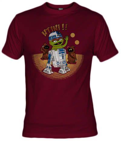 Camiseta Utini por Sr Baritono - Fanisetas - Oscar - Sesame Street - Barrio Sésamo - Jawas, Star wars