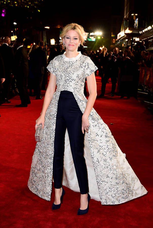 Elizabeth Banks, avant-premère Hunger Games ! - Elle