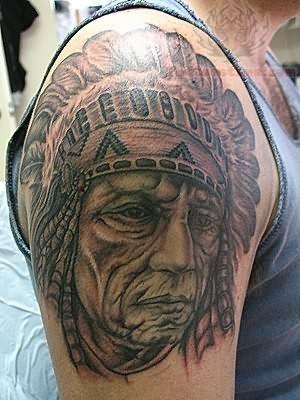 Cherokee Indian Tattoo