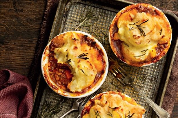 The perennially fashionable shepherd's pie has stood the test of time…