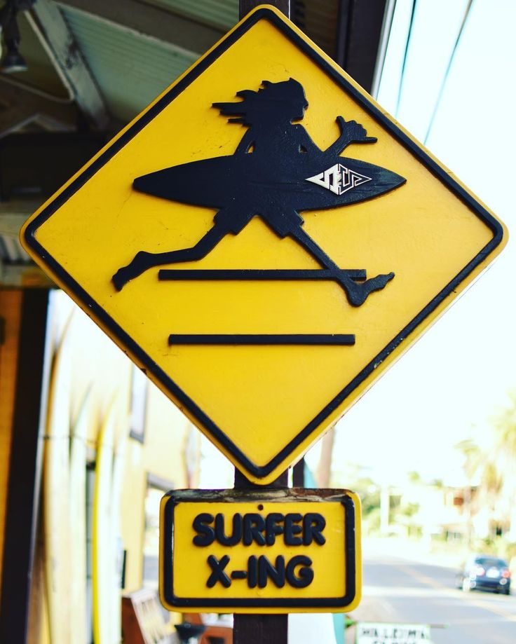 Surfer crossing #signs #sign #streetstyle #photoshoot #warning #surfer #surfergirl #surfersparadise #shopping #shop #shoponline #elite #inspiration #inspo #etsy #etsyshop #crossing #crossinglines #gosurf #haleiwa #oahu #northshore #hawaii #tropical #island #islandlife
