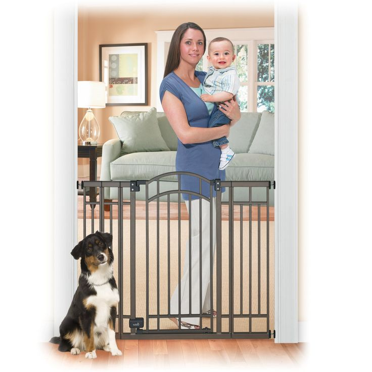 Summer Infant Multi-Use Extra Tall Walk-Thru Baby Gate - Bronze - 07600B