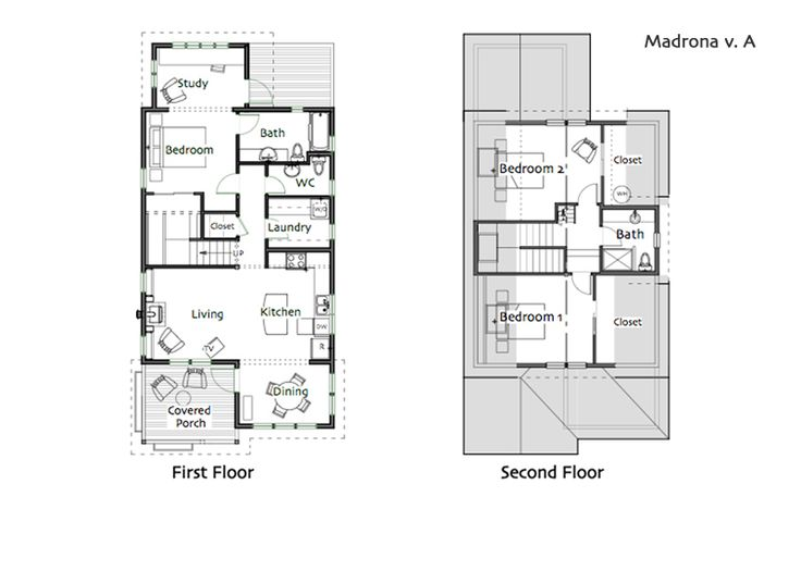 ordinary compact cottage plans #6: 282 best Cottage Plan favs images on Pinterest | Small house plans, Small  houses and Cabin plans