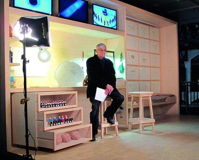 Baruchello: cinquant'anni di solitudine..., intervista 2014