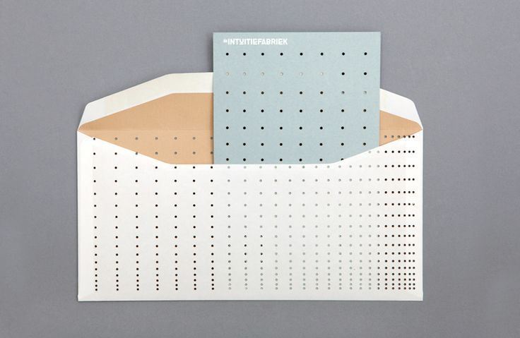Stationery with die cut detail