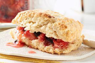 30 Minutes to Homemade SURE.JELL Strawberry-Blueberry Freezer Jam Recipe - Kraft Recipes