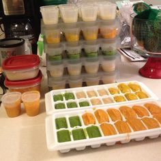 How to Puree, Make and Store Homemade Baby Food