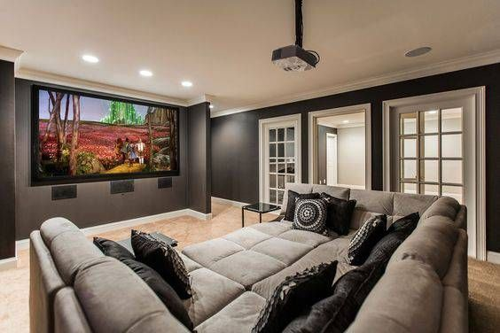 Best 25 home theatre ideas on pinterest home theater - Sala cinema in casa ...