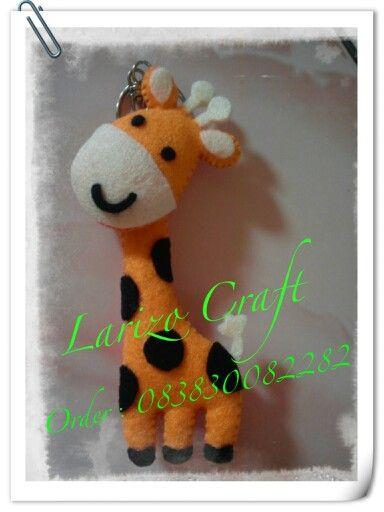 Jerapa giraffe #flanel#felt#handmade
