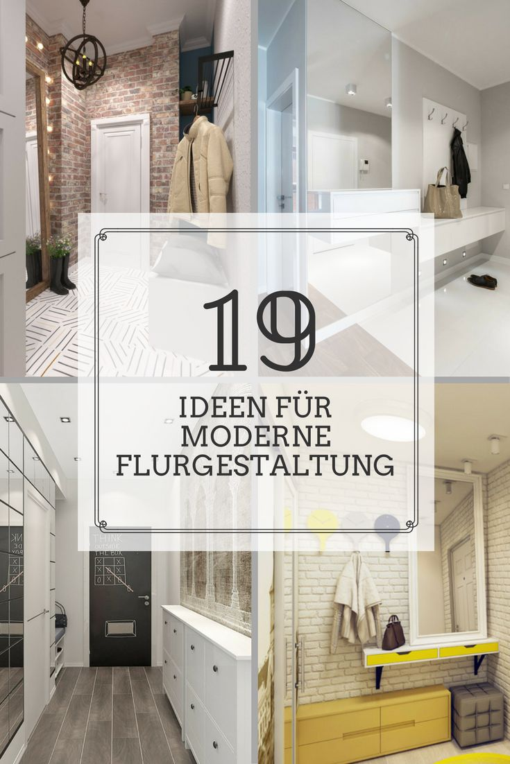 55 best Flurgestaltung images on Pinterest | Garderoben, Praktisch ...