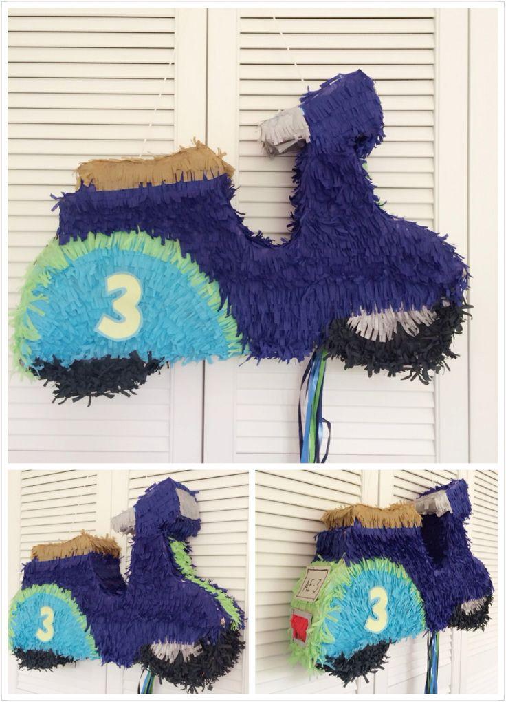 Vespa scooter piñata